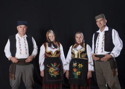 Pevači izvika Miloljub Šaković, Dragica Žunić, Tomka Paunović i Miroljub Raketić, Retnik, 2015. Foto: Predrag Todorović