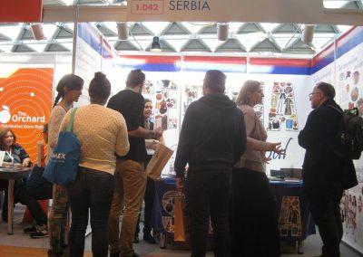 Štand Srbije bio je dobro posećen.