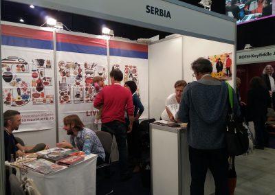 Štand Srbije na WOMEX-u 2017. Foto: WMAS
