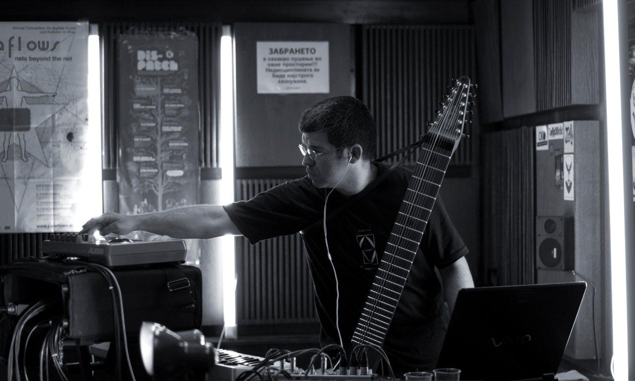 Dorian Jovanović u svom studiju (foto: Aleksandar Nikov)