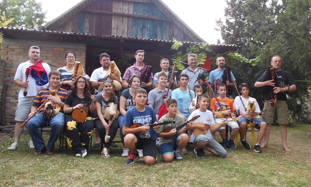 gajdaški etno kamp sivac