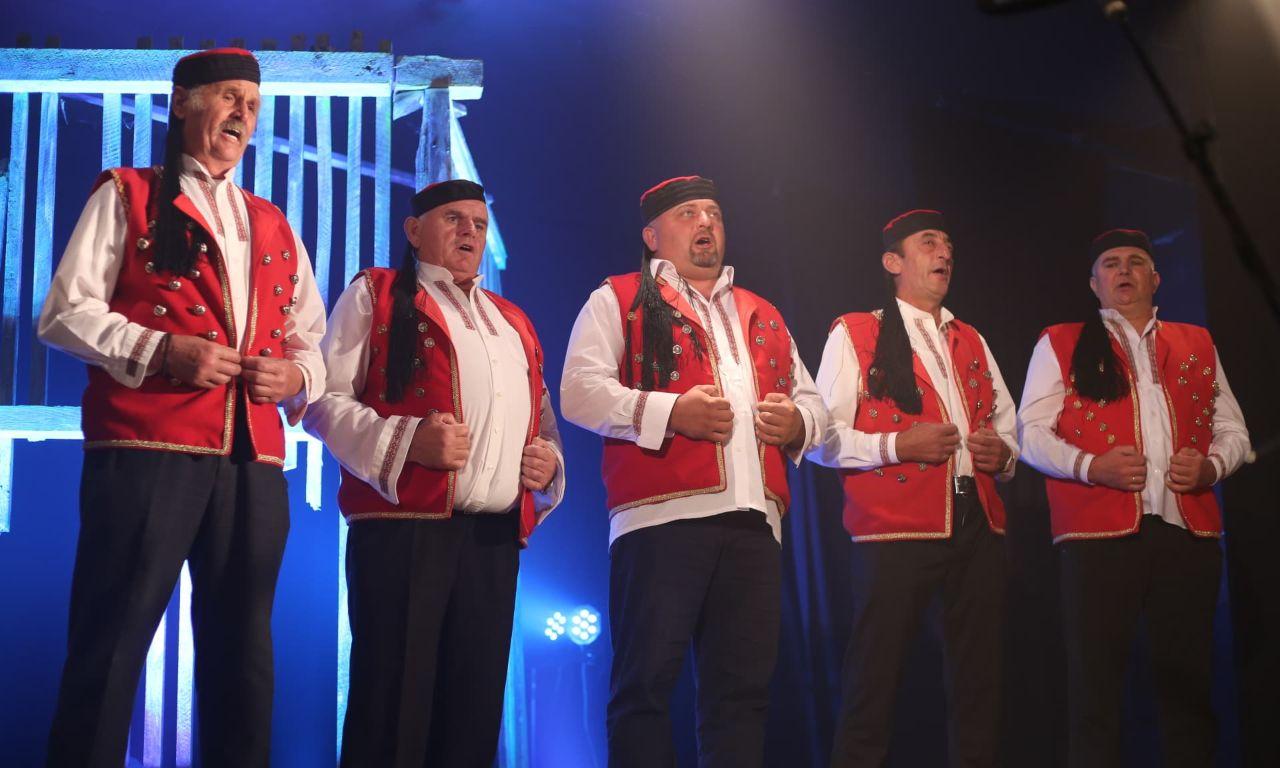 muška pevačka grupa krajolik lika